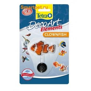 """Tetra / Тетра Deco Art Clownfish искусственная плавающая рыбка """"Клоун"""""""