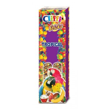 Cliffi / Клиффи Лакомства для крупных Попугаев: Палочки фруктами медом PCOA425