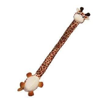 Kong / Конг игрушка для собак Danglers Жираф 62 см с шуршащей шеей