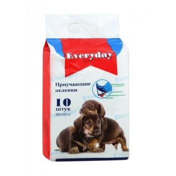 Everyday впитывающие пеленки для животных гелевые 10шт 60х45см