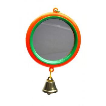 Yami-Yami / Ями-Ями Зеркало с большим колкольчиком для попугая (5018)