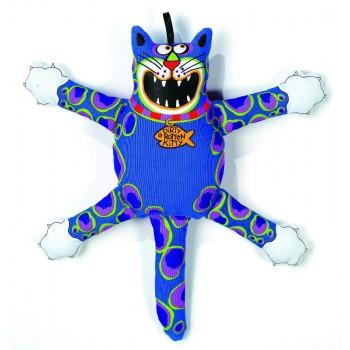 "Kitty City Игрушка ""Кот-забияка"" Мини, синий, (FATCAT Mini terrible nasty scaries)"