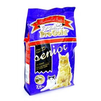 Frank's ProGold / Франкс ПроГолд для пожилых кошек (Senior 28/20) 7,5 кг