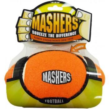 """R2P игрушка для собак Masher """"Мячик с 3-мя орбитами"""" 10 см вспененная резина с покрытием тенисного мяча ВЫГОДНАЯ ЦЕНА"""