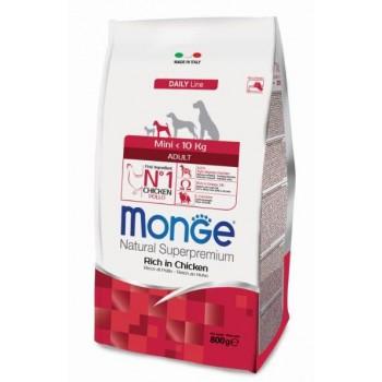 Monge / Монж Dog Mini корм для взрослых собак мелких пород 800г