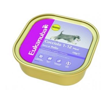 EUKANUBA / Еукануба Dog консервы для щенков с курицей 150 г