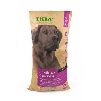 TitBit / ТитБит Корм сухой для собак крупных пород ягненок с рисом 13 кг