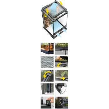 Hagen / Хаген террариум из силикатного стекла Nano 20 х 20 х 20 см