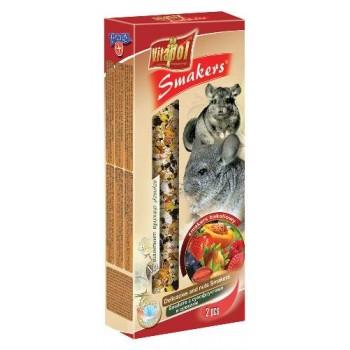 Vitapol / Витапол Smakers с сухофруктами и орехами для шиншилл