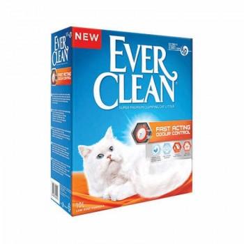 Ever Clean Fast Acting Мгновенный контроль запахов комкующийся наполнитель для кошек (10л)