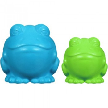 JW Игрушка д/собак - Лягушка, каучук, маленькая, Darwin the Frog Small (43070)