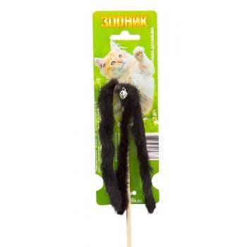 """Зооник Дразнилка для кошек """"Норковая пальма""""50 см (07101)"""