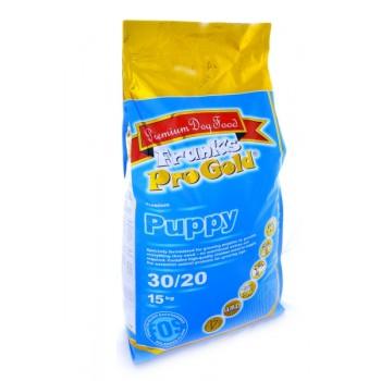 Frank's ProGold / Франкс ПроГолд для щенков всех пород: Курица по-королевски (Puppy 30/20) 15 кг