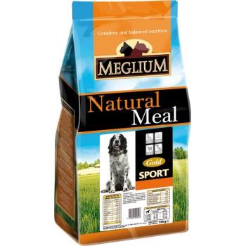MEGLIUM / МЕГЛИУМ SPORT GOLD Корм сух.15 кг для активных собак MS2615