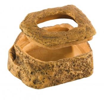Hagen / Хаген кормушки-камни для подвижного корма Worm Dish, 11,5х9х5 см