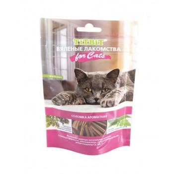 TitBit / ТитБит Вяленые лакомства Соломка ароматная для кошек 40 г