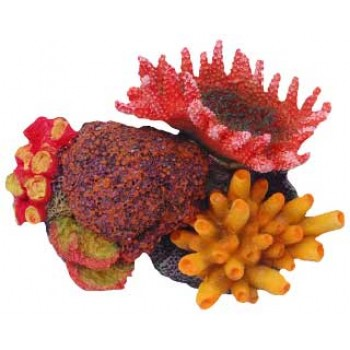 Penn-Plax / Пен-Плакс Декорация Кораллы на рифе 11,5х8,5х8см FIAD-1173