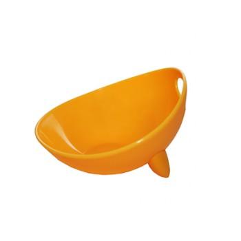 Ziver / Зивер 413 Миска дизайнерская , S, 500мл, желтый