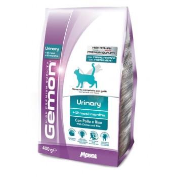 Gemon / Гемон Cat Urinary для профилактики мочекаменной болезни для кошек с курицей и рисом 400 г