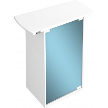 Tetra / Тетра AquaArt тумбочка под аквариумы 60 л со стеклянной дверью цвет белый
