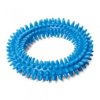 """Triol / Триол Игрушка для собак из ц/литой резины """"Кольцо с шипами"""", 115мм"""