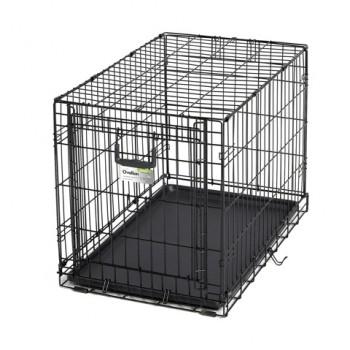 Midwest / Мидвест клетка Ovation 79х49х54,6h см 1 дверь рельсовая черная
