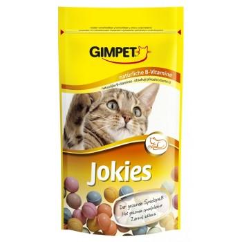"""Gimpet / Гимпет ВитаМиниз. лакомство """"JOKIES"""" (компл. вит. В), д/кошек, (пакетик) 40 шт 50г"""