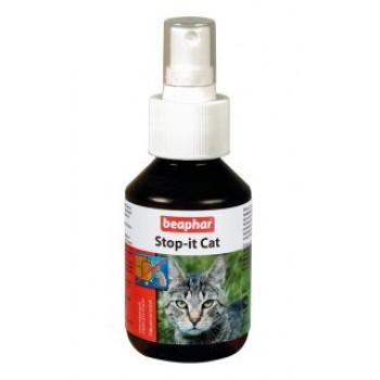 Beaphar / Беафар Спрей «Stop it Cat» отпугивающий д/кошек, для защиты мест и предметов интерьера, 250мл