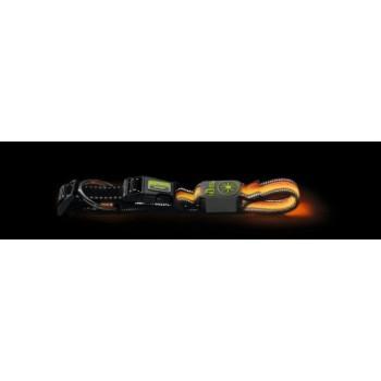 Hunter / Хантер LED Ошейник Manoa Glow M (50-55)/2,5 оранжевый
