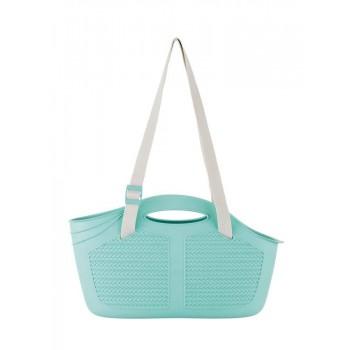 Bama Pet сумка-переноска для собак мини-пород и кошек MIA 40x15x24hсм, аквамарин