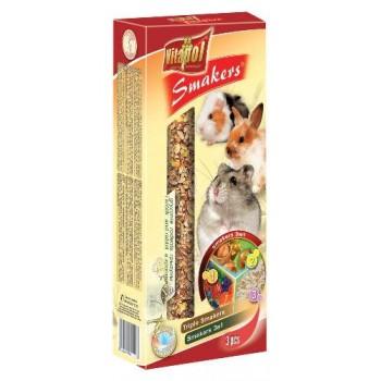 Vitapol / Витапол Smakers для грызунов ( орех/лесные ягоды/попкорн )
