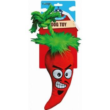 """R2P игрушка для собак Funny Farms """"Перчик Чили"""" большая текстиль 35 см"""