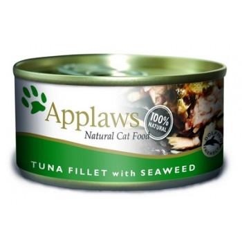 Applaws / Эпплаус Консервы для кошек с филе Тунца и морской капустой 0,07 кг