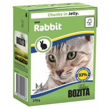 Bozita / Бозита кон.д/кошек Кусочки в желе Кролик 370гр
