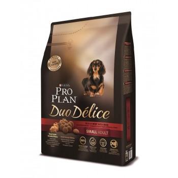 "Pro Plan / Про План ""Duo Delice"" сухой для собак мелких и карликовых пород Говядина с Рисом 2,5 кг"
