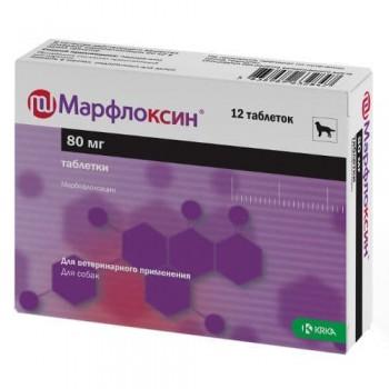 Марфлоксин 80мг антибиотик широкого спектра действия 12таб