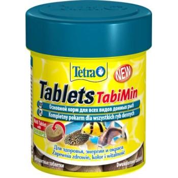 TetraTabletsTabiMin / Тетра корм для всех видов донных рыб 58 таб.