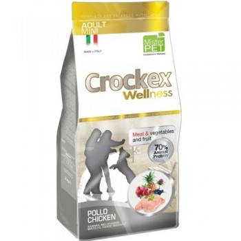 CROCKEX / КРОКЕКС Wellness сухой корм для собак мелких пород 7,5 кг курица с рисом MCF2707