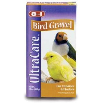 8in1 гравий для заполнения зоба птиц Bird Gravel для канареек и амадин 680 г