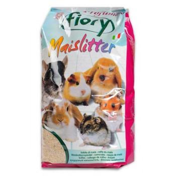 Fiory / Фиори наполнитель кукурузный для грызунов Maislitter Profumato дикие ягоды 5 л