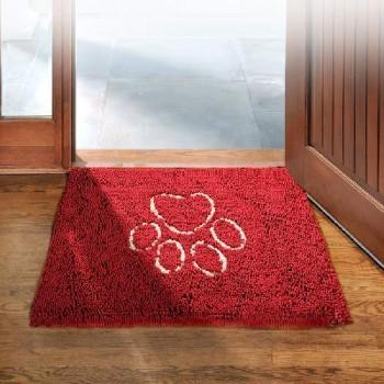 Dog Gone Smart / Дог Гон Смарт коврик д/собак супервпитывающий Doormat L, 66*89см, красный