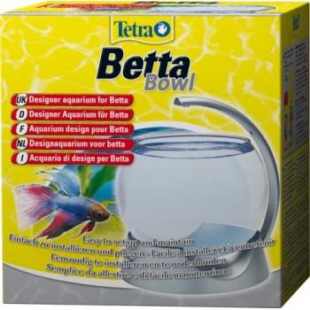 Tetra / Тетра Betta Bowl аквариум-шар для петушков с освещением 1,8 л