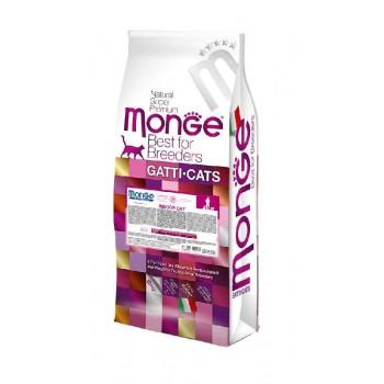 Monge / Монж Cat Indoor корм для домашних кошек 10 кг