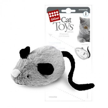 GiGwi 75240 Интерактивная Мышка