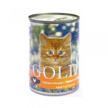 "Nero Gold / Неро Голд для кошек ""Фрикасе из курицы"" 0,41 кг"