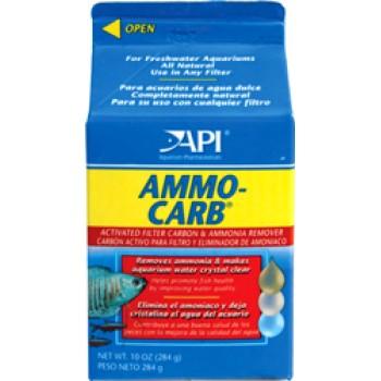 API / АПИ Аммо Карб - Средство для удаления аммиака и органич.веществ из аквариумной воды Ammo-Carb, 255 g