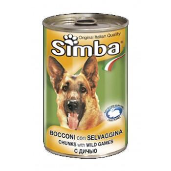 Simba / Симба Dog консервы для собак кусочки дичь 1230 г