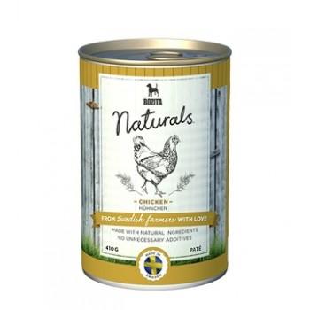 Bozita / Бозита Naturals Chicken кон.д/собак мясной паштет с Курицей 410гр