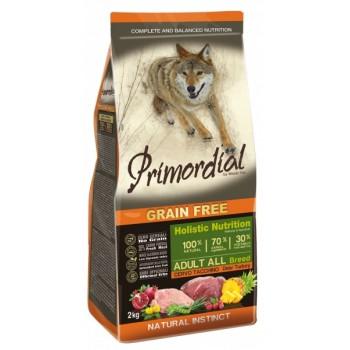 PRIMORDIAL / ПРИМОРДИАЛ Корм сух для собак б/зерн.оленина индейка 2 кг