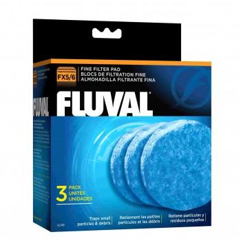 Hagen / Хаген губка тонкой очистки для фильтров Fluval FX5, 3 упаковки